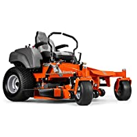 2. Husqvarna MZ61 Briggs & Stratton Zero Turn Riding Mower - Best Zero Turn Mower for Large Lawns