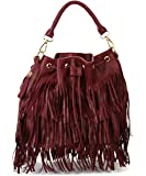 Urban Expressions Arizona Fringe Cross Body Bag