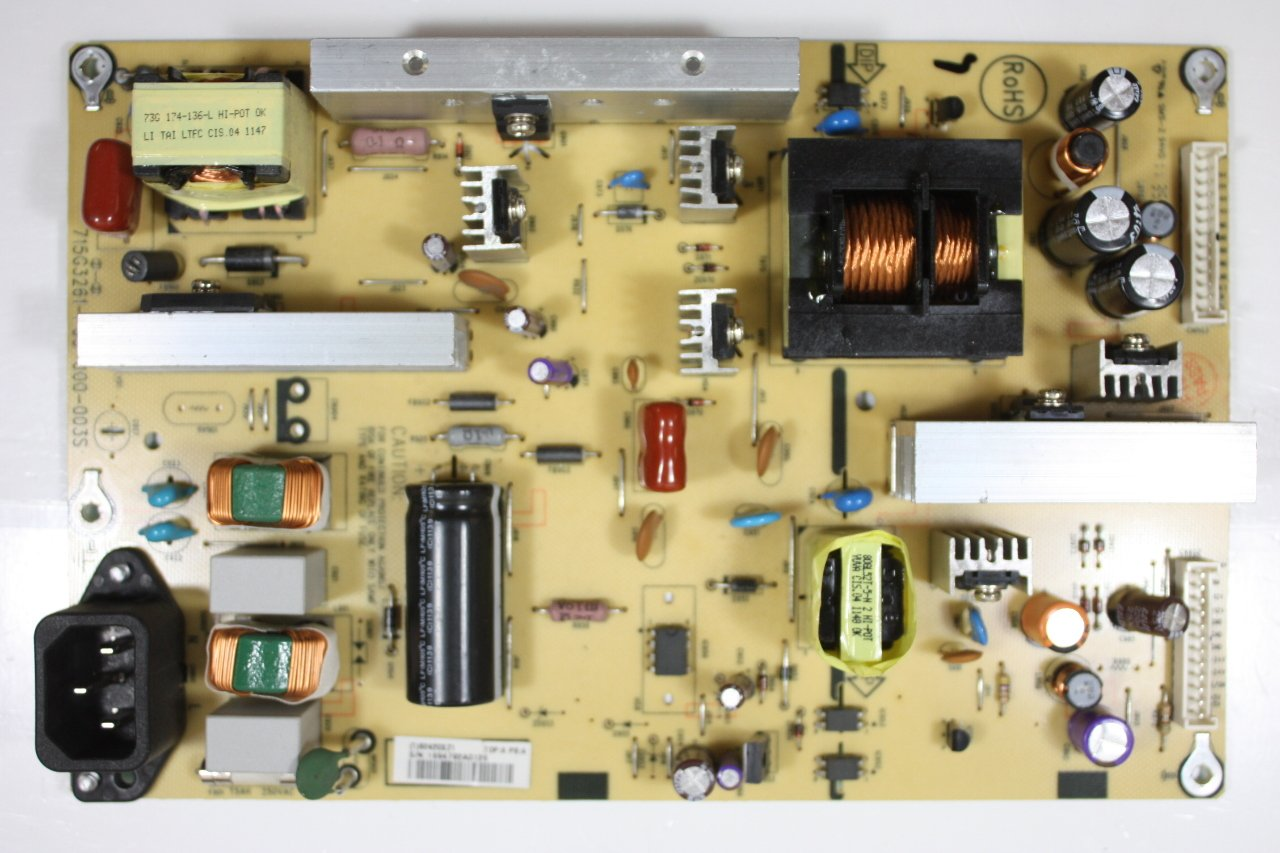 INSIGNIA 37 NS-37L760A12 B2420XZ1 Power Supply Board Unit