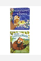 2 Pack Padded Board Books - Grandma Wishes and All the Love in the World (Love You Always) Board book
