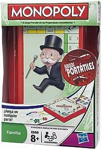 Hasbro Juegos Monopoly Portatil 29188105: Amazon.es: Juguetes y juegos