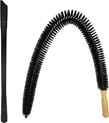 Amazon Com Dryer Vent Cleaner Kit 30 Inch Flexible Dryer Lint Brush For Cleaning Dryer 24 Universal Vacuum Attachment For Dryer Vent Fits Vacuum Hoses 1 1 2 Inches Or Less Health Personal Care