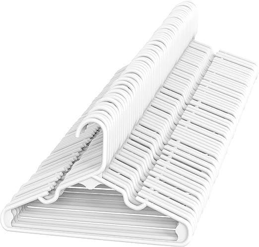 Color Blanco Tosnail de Perchas Infantiles 40 unidades