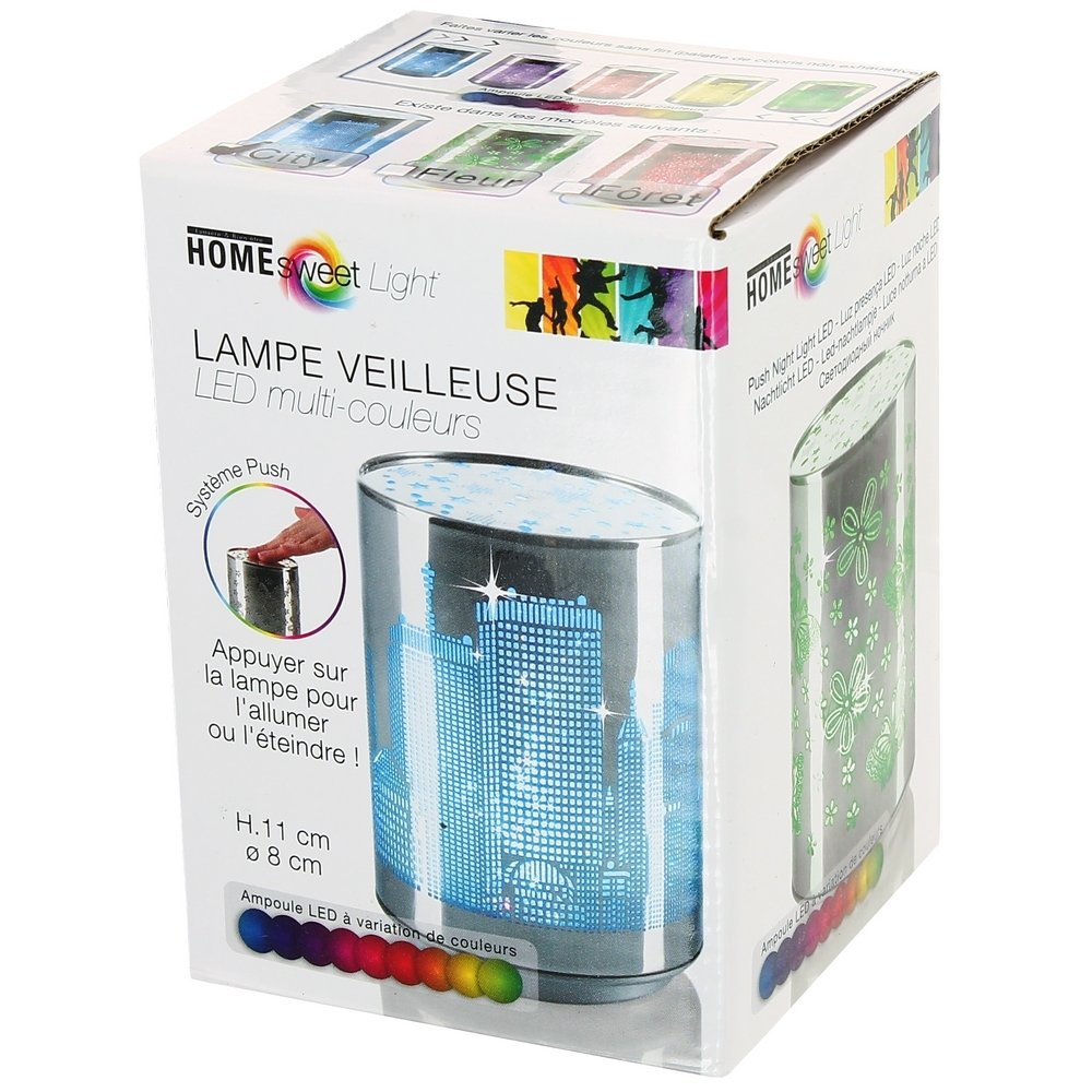 York Building Led Socle Tactile Décor New Veilleuse Lampe Illuminé zVSUqMp