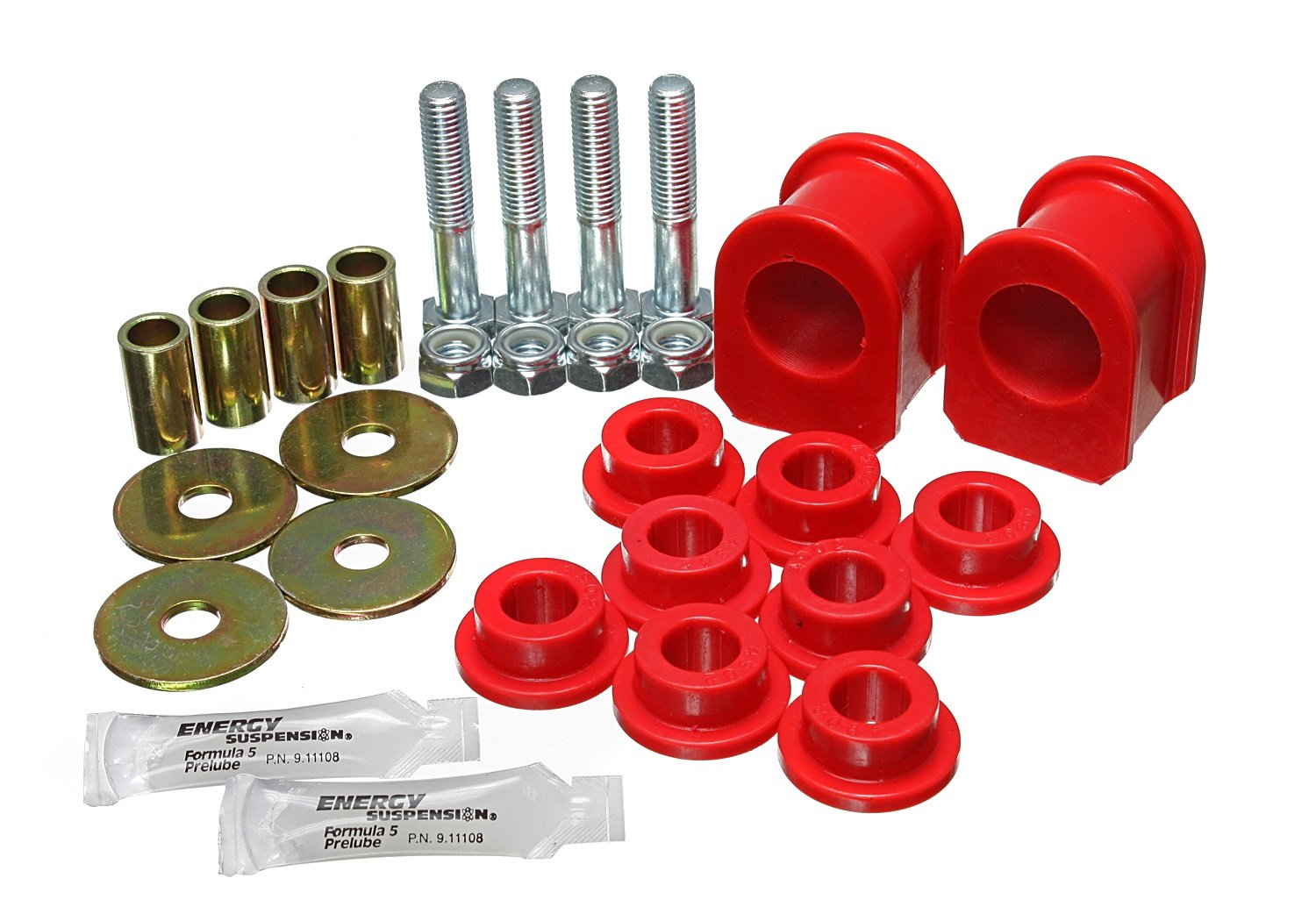 Energy Suspension 4.5192R Front 1 1/4'' SWAY BAR BUSHING SET by Energy Suspension