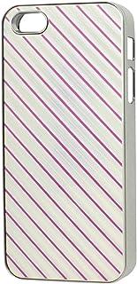 Couleur Argent Fuchsia de protection en plastique Guard pour iPhone d'Apple 5 5G