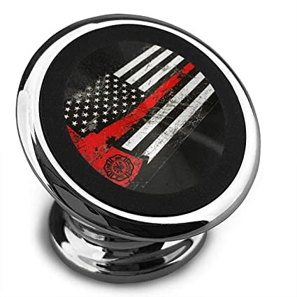 Amazon com: Magnetic Mount USA Thin Red Line Firefighter Axe 360