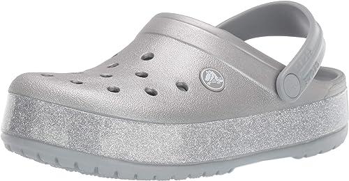 womens sparkly crocs