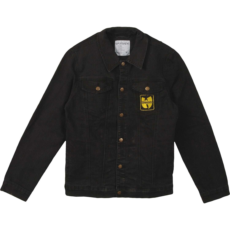 Wu-Tang Clan Men's Forever Patch Denim Jacket Denim Jacket Medium Denim by Wu-Tang Clan