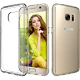 Galaxy S7 Case, TOTU Ultra Crystal Clear Cushion Slim Fit Scratch Resistant Protective Case Cover with Hybrid Transparent Back and Shock Absorption TPU Rubber Bumper for Samsung Galaxy S7 - Warranty