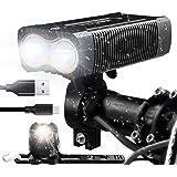 victagen USB Rechargeable Bike Light,Super...
