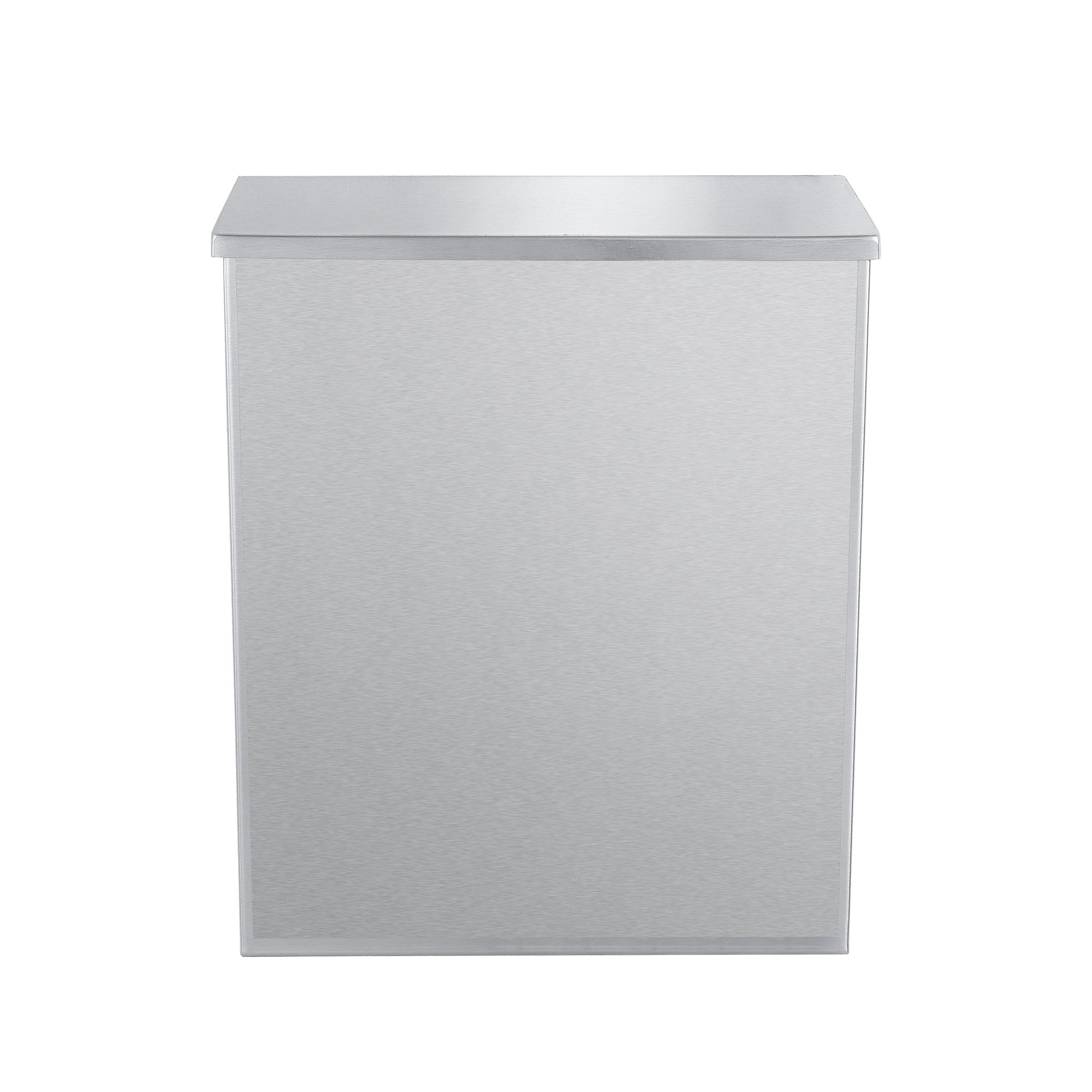 (1 Pack) Sanitary Napkin Disposal with Key and Lock - 304 Grade Heavy Duty Stainless Steel - 1.8 Gallon Capacity by Dependable Direct