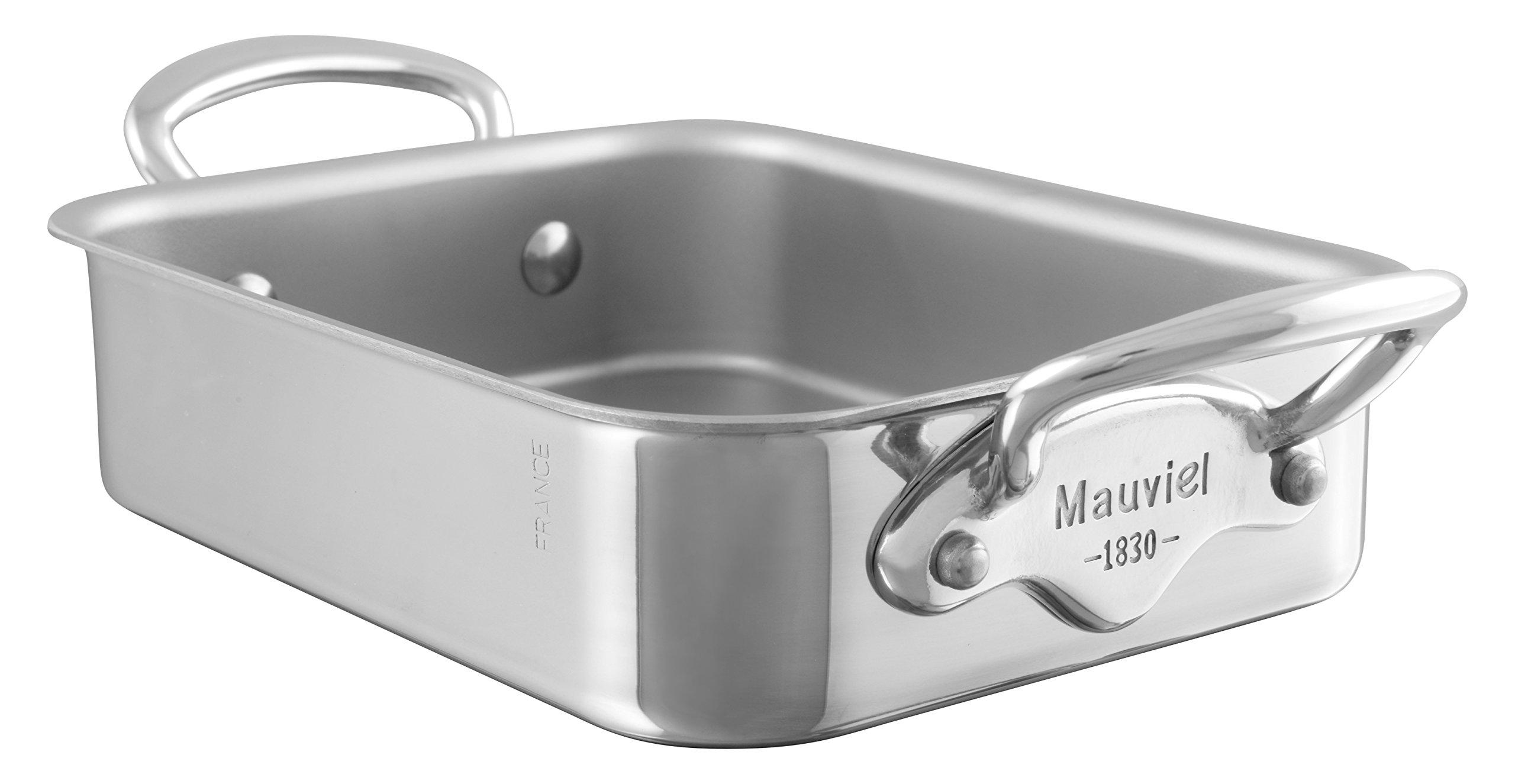 Mauviel M'Mini - SS Rectangular roasting pan - 5.5 x 3.9 x 1.8