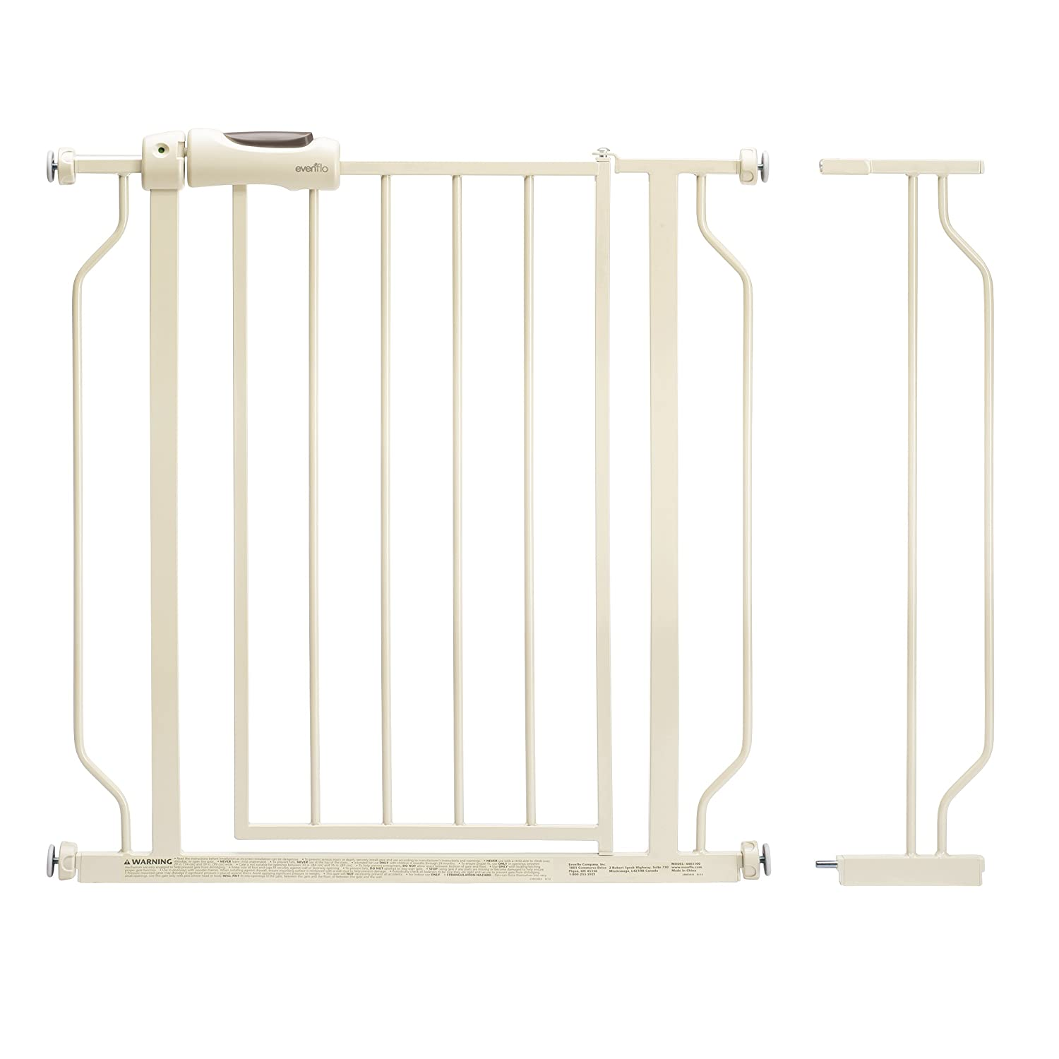 Evenflo Easy Walk Thru Doorway Gate, White