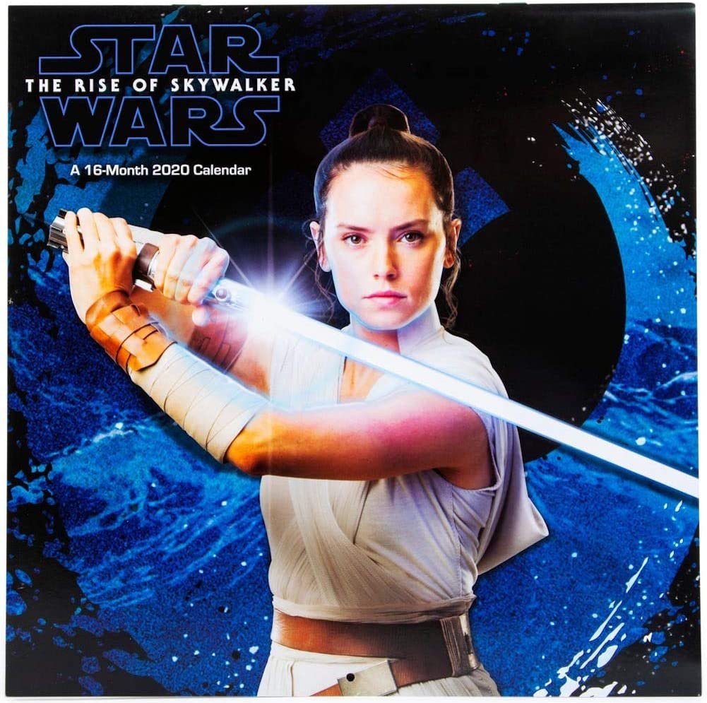Amazon Com Star Wars The Rise Of Skywalker 2020 16 Month Wall Calendar Office Products