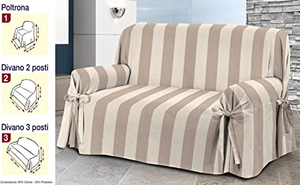 Funda para sofá de 3 tamaños, tela jacquard, mezcla de ...