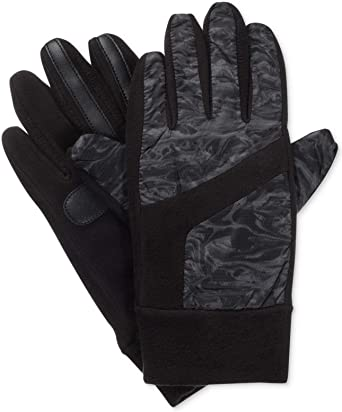 ISOTONER Signature fleece Touchscreen SmartDRI women/'s gloves BLACK