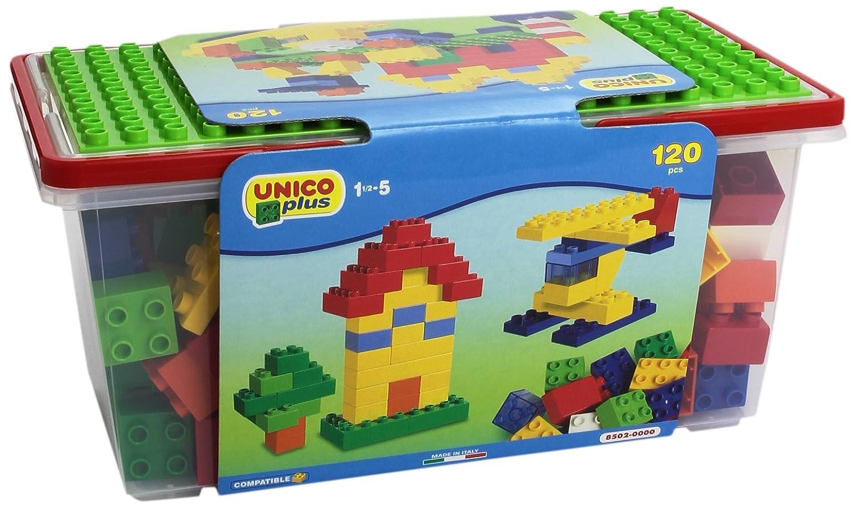 Falomir Construcción Cubo Unico 120 Pzs 8502-0000