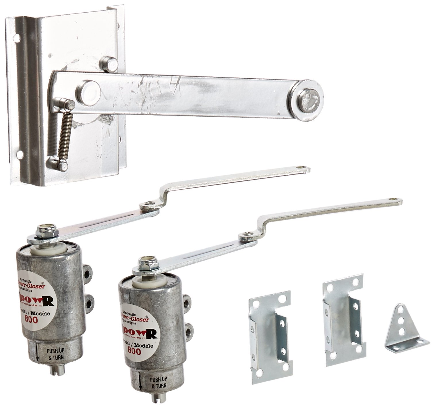 JUSTRITE MANUFACTURING 25926 Conversion Kit for Safety Cabinet to Convert Doors from Manual-Close to Self-Close