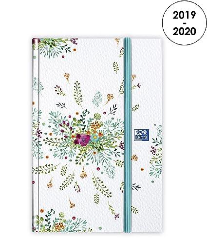 Oxford Flowers - Agenda 2019 - 2020 de agosto a agosto (1 ...