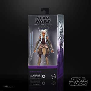 Star Wars The Black Series Ahsoka Tano Toy 15-cm-Scale Star Wars Rebels Collectible Action Figure, Toys for Children Aged 4 and Up