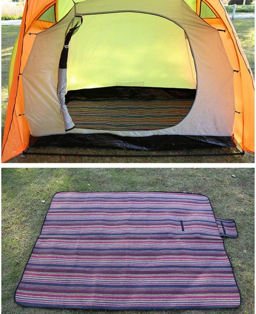 LIIYANN Coperta da Picnic, Tappeto Portatile con Manico Tappeto Impermeabile Supporto da Viaggio Tappetino da Campeggio all'aperto da Spiaggia (150 X 200 cm) A