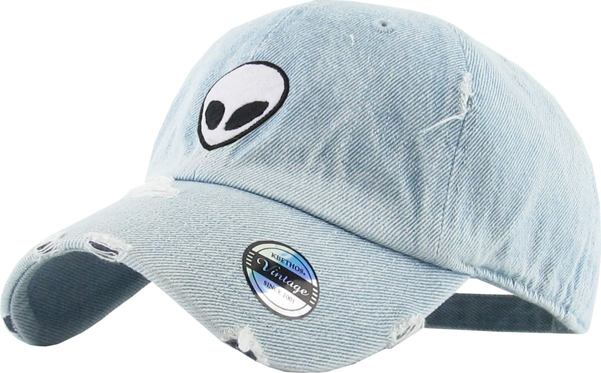 a8f7dc31 KBSV-042 LDM Alien Vintage Dad Hat Baseball Cap Polo Style Adjustable:  Amazon.ca: Sports & Outdoors