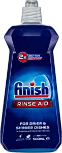 Finish Dishwashing Rinse Aid, Regular Liquid, 500ml