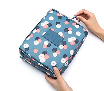 2a712e1a39 Amazon.com   SKYWXHN Hot travel cosmetic bag Multifunction women toiletries  organizer makeup bags waterproof female storage make up Cases   Beauty