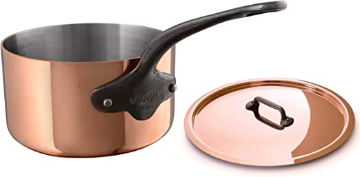 Mauviel 6548.28 MHeritage M250C 2.5mm Copper 10.2 Lid,