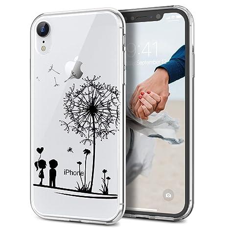coque iphone xr transparente silicone ultra fine