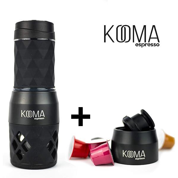 Cafetera portátil espresso, para capsulas compatibles NS y ...