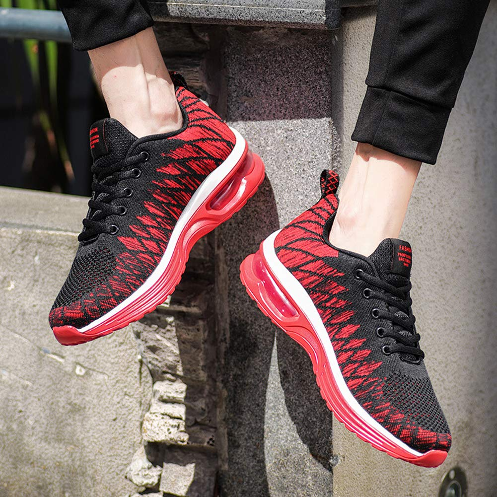 Kivors Womens Girls Running Trainers Gym Fitness Sneaker Mens Sports Jogging Shoes Shock Absorbing Size Couple Air Walking Trainers