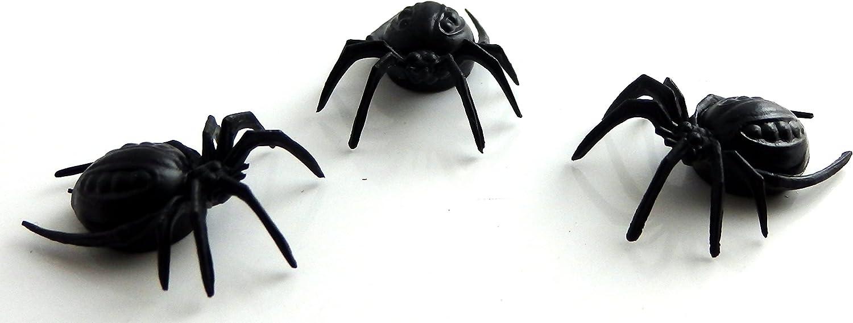 Melody Jane Poup/ées Miniature Halloween Abri Jardin Accessoire 3 /Énorme Effrayant Araign/ées