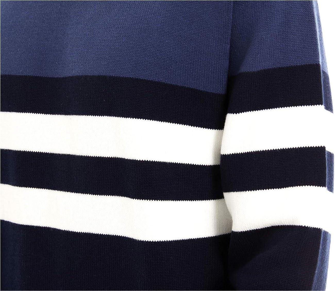 EKLENTSON Herren Colorblock Winterpullover Strickpullover Langarm Sweater Warm-Cotton mit Rundhalsausschnitt Olivgrün