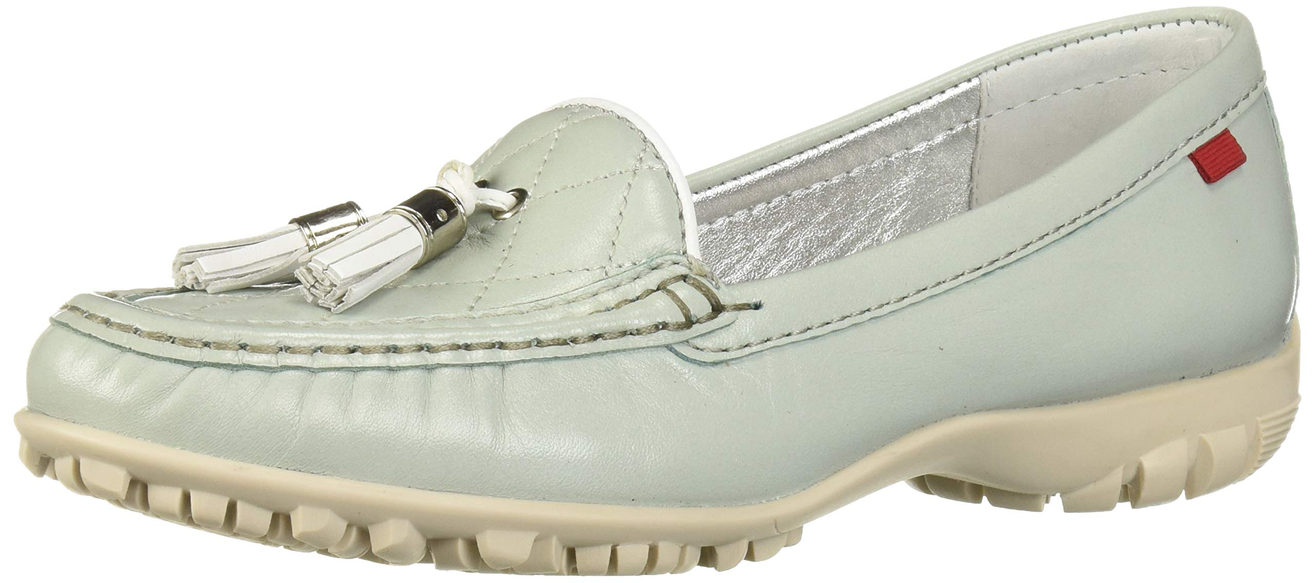 Marc Joseph New York Women's Womens Genuine Leather Made in Brazil Wall Street Golf Shoe Athletic Shoe, Mint nappa/White, 7.5 M US by MARC JOSEPH NEW YORK