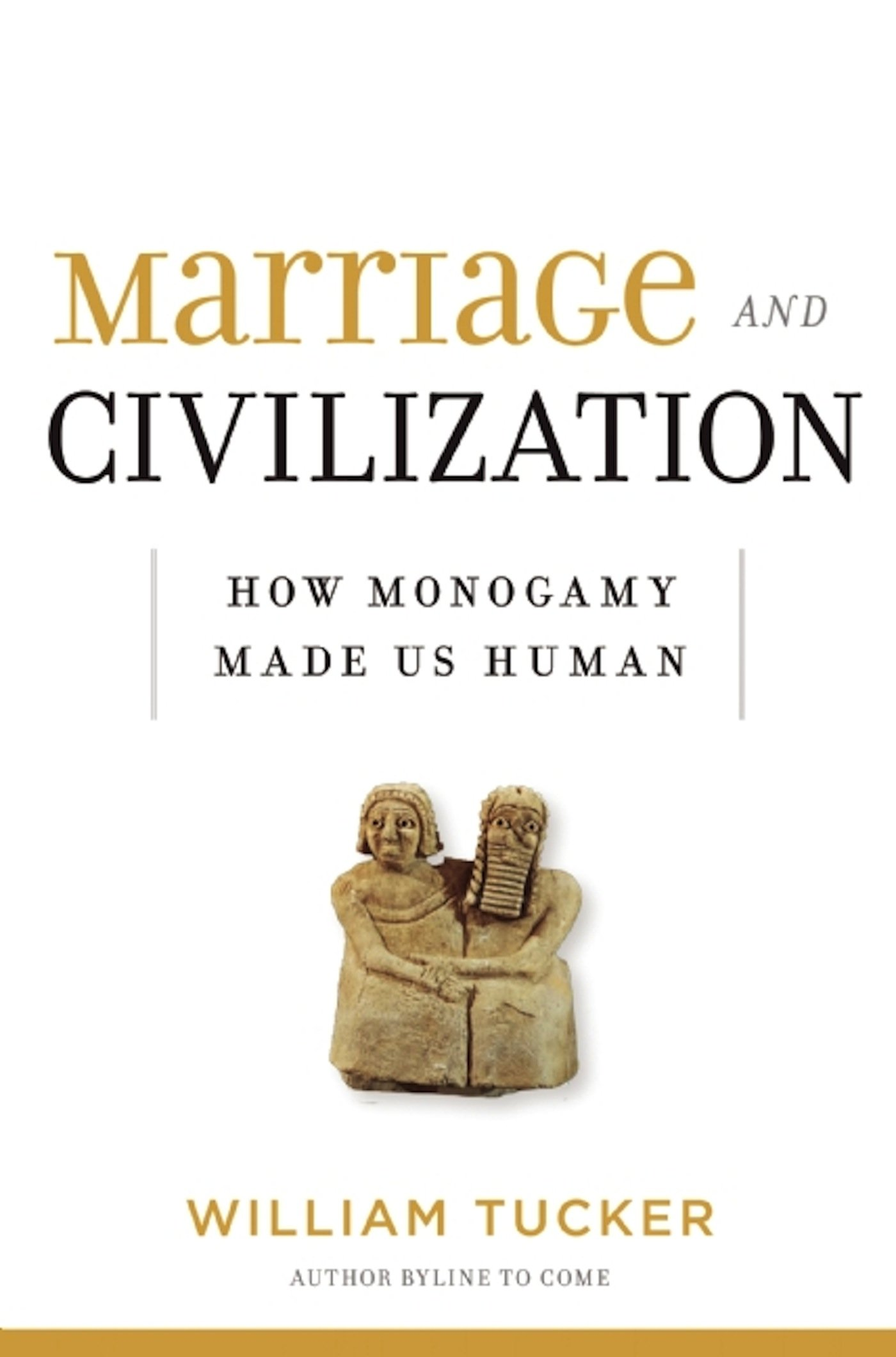 Marriage And Civilization: How Monogamy Made Us Human: William Tucker:  9781621572015: Amazon: Books