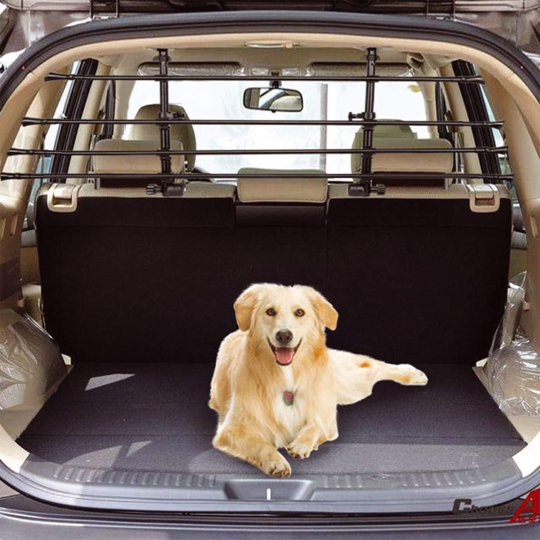 TUNE-UP-UK Premium Deluxe Headrest Tubular Trunk Boot Dog Pet Guard Barrier Heavy Duty DLXDG-2138