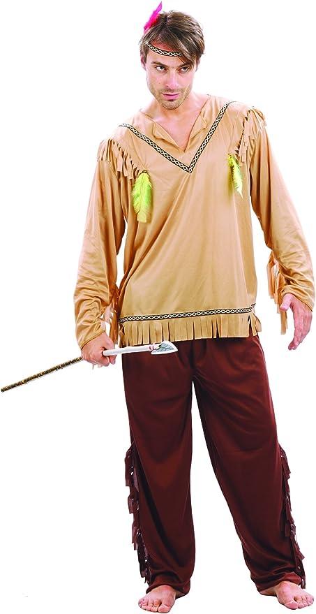 Disfraz de indio pálido para hombre Única: Amazon.es: Juguetes y ...