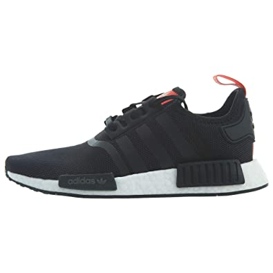 3c40a8aed5781 adidas Kid s Sneaker B42087 NMD Black Red (4M US