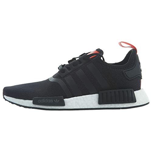 new styles c6e5f 3d95e adidas Kid's Sneaker B42087 NMD Black/Red