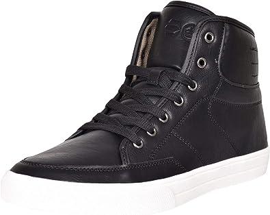Crosshatch - Zapatillas de Deporte para Hombre, Color Negro, Talla 47 EU: Amazon.es: Zapatos y complementos