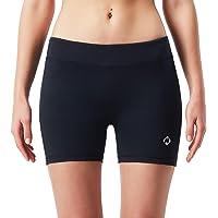 NAVISKIN Pantalones Cortos de Compresión para Mujer Compression Shorts Deportivos Correr Fitness Yoga Casual Deporte Secado Rápido