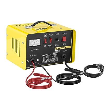 MSW Cargador de batería Coche S-CHARGER-50A (Ayuda de Inicio ...