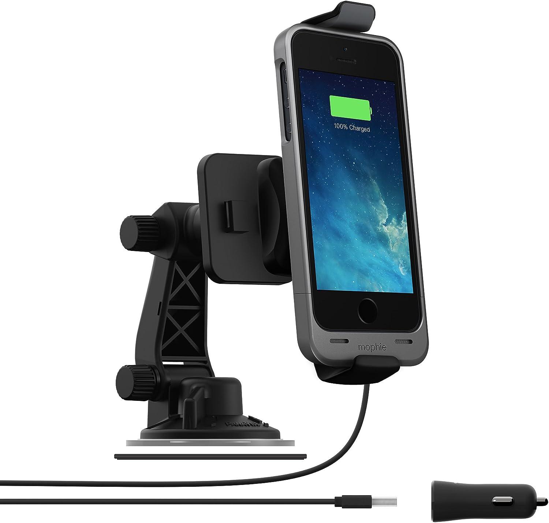 mophie 2306 Juice Pack Car Dock for iPhone 5/5s/SE - Black