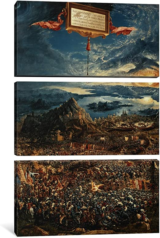 Battle of Issus by Albrecht Altdorfer   Giclee Canvas Print Repro