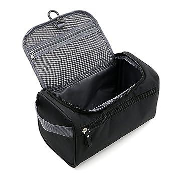 Kaisir Menu0027s Travel Toiletry Bag Travel Bag Travel Bathroom Bag Toiletry  Kit Travel Organization, Black