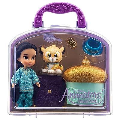 Disney - Disney Animators' Collection Jasmine Mini Doll Play Set - 5'' - New: Toys & Games