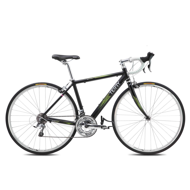 テリー対称650女性のロードバイク – 2013 B07BBVLWQTブラック 44