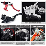 CNC Quick Adjust Clutch Lever Perch With Hot Start for Honda CR125 CR250 CRF 250R 250X